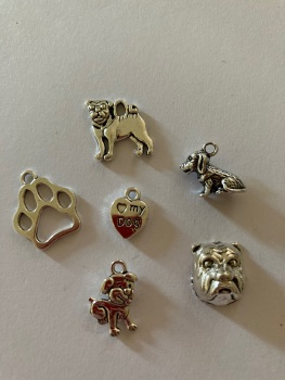 Dog Charms (Pack of 6) CH21