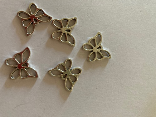 Butterfly Charms (Pack of 5)  CH34