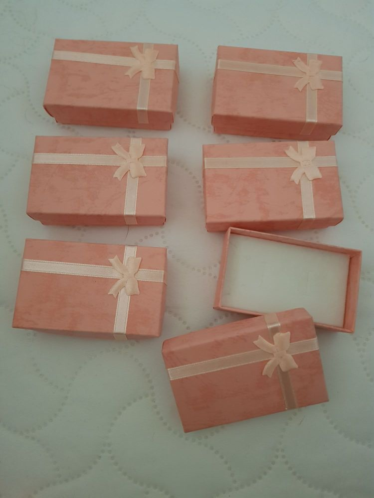 Pink Boxes 80x50x25mm (Pack of 6)