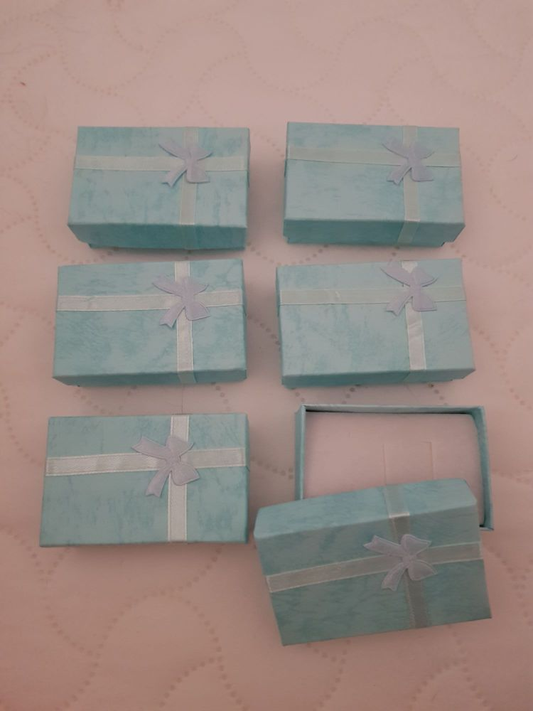 Blue Boxes 80x50x27mm (Pack of 6)