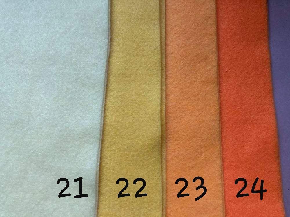 Yellow (Pale) Premium Craft Felt A4 (each) Shade 21