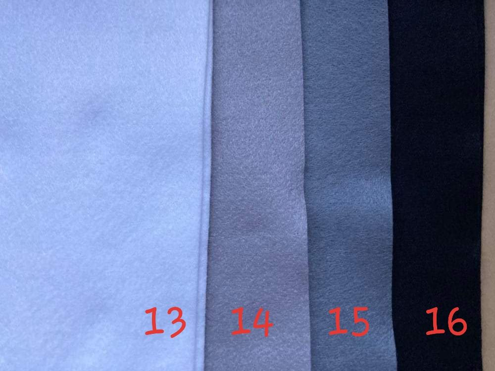 Grey (Silver) Premium Craft Felt A4 (each) Shade 14