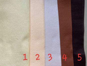 Brown Premium Craft Felt A4 (each) Shade 5