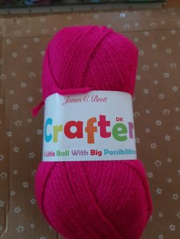 Crafter DK 50g - Cerise CT08