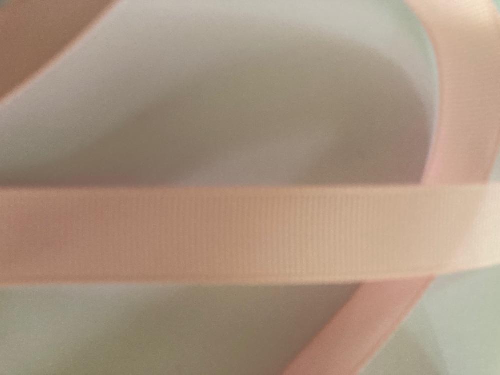Pink Grosgrain Ribbon 15mm ( per metre)
