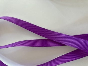 Purple Grosgrain Ribbon 10mm ( per metre)