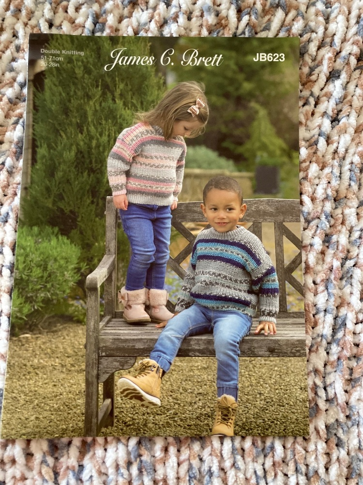 Childrens Knitting Pattern Jumper , Sweater JB623