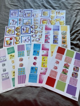 Card Making (Pack of 10 as shown)   CM03