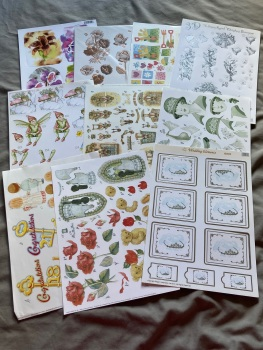 Card Making (Pack of 10 as shown) CM05