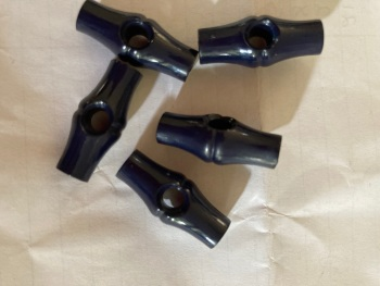 Navy Toggle 25mm (each)