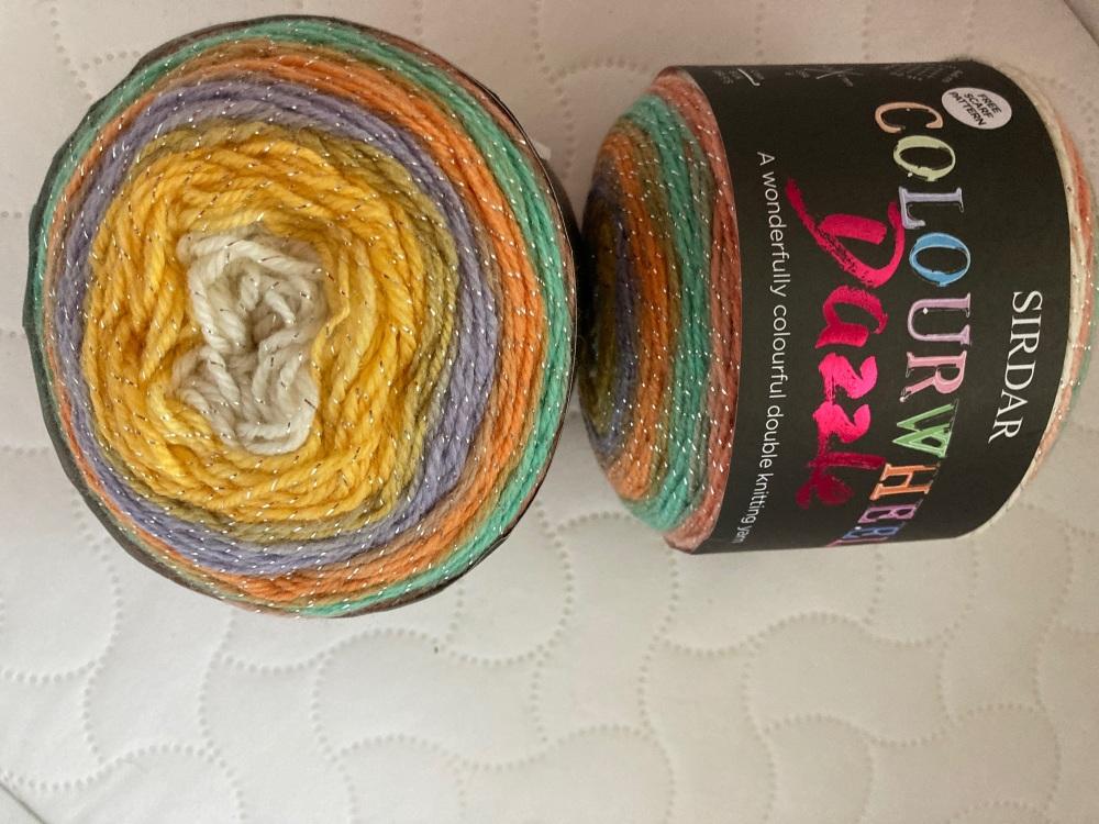 Sirdar Colourwheel Dazzle 150g  Rrp £9.95
