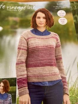 Ladies Knitting Pattern Cardigan , Jumper Stylecraft 9460
