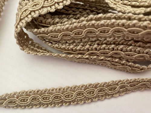 Dark Cream/ Beige Braid/Trim (2 metre pack)