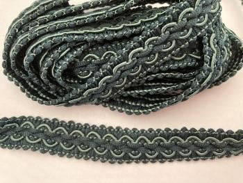 Green Mix Braid/Trim 16mm (2 metre pack)