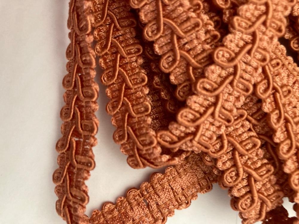 Terracotta Braid/Trim 16mm (2 metre pack)