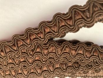 Brown  Braid/Trim 15mm (2 metre pack)