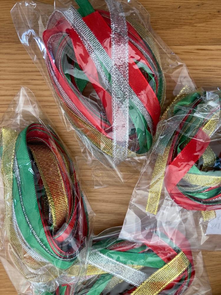 Mixed Ribbon Pack 8 x 1 metre lengths