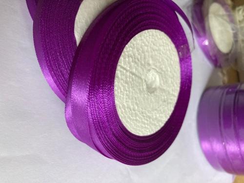 Purple Single Satin Ribbon 10mm FULL ROLL 25 yards/22+metres