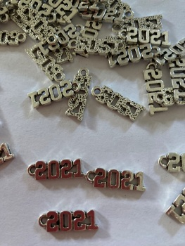 2021 Charms (Pack of 5) CH52. NOW HALF PRICE