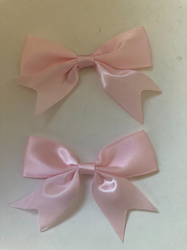 Pink Bow 80mm (Pack of 3)