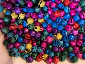 Mini Bells - Random Mix 5mm approx  (Pack of 40) BL06