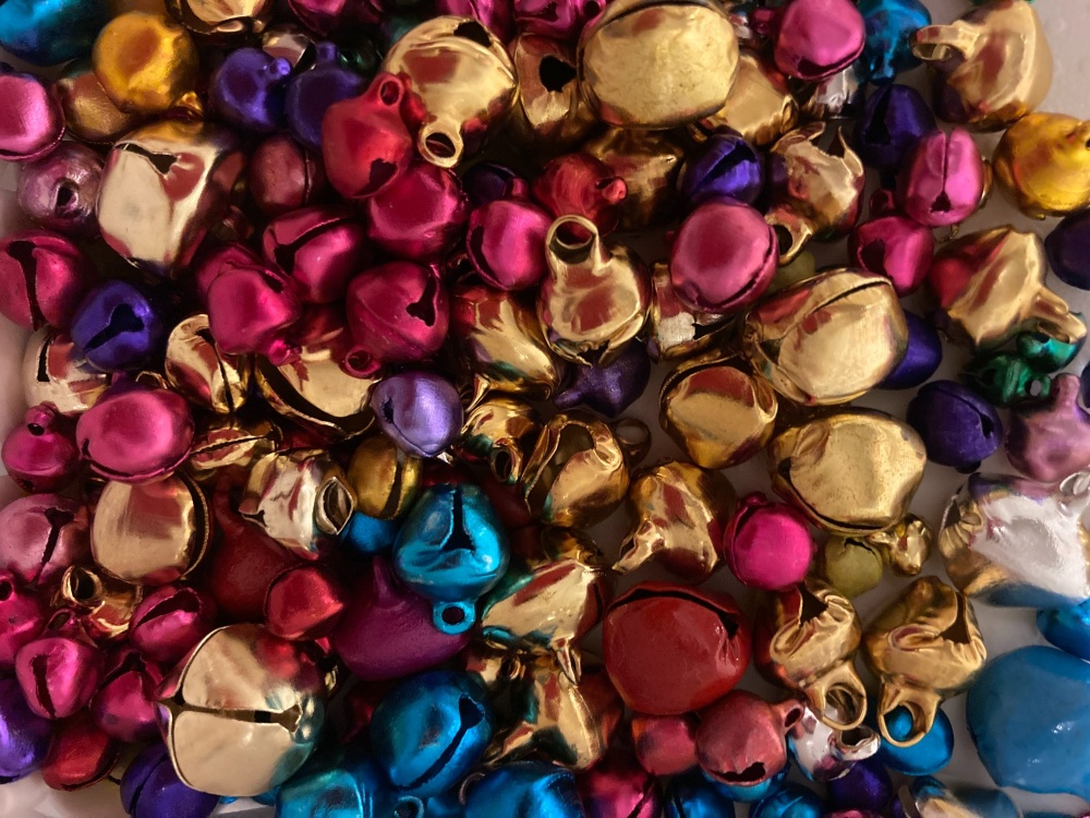 Bells - Random Mix from 5-15mm (Pack of 40 )BL17
