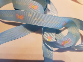 Easter Grosgrain Ribbon 15mm ( 2 metres)