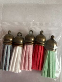Tassles 37mm- (Pack of 5 as shown ) TS01