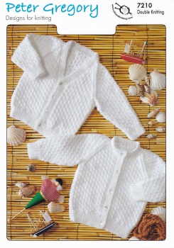 Childrens Knitting Pattern Cardigan  PG7210
