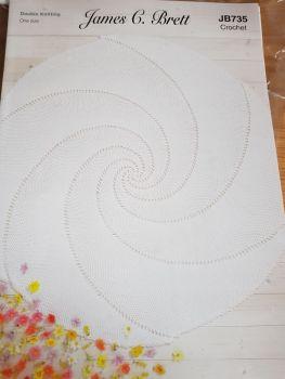 Childrens Crochet Pattern  Cover / Shawl JB735