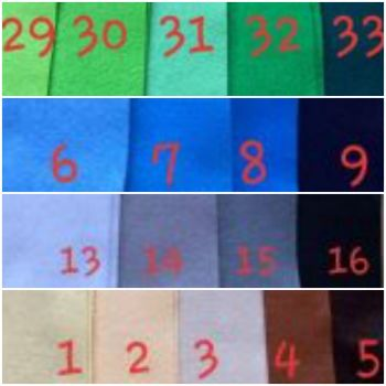 Premium Craft Felt A4 (each) Please message to buy