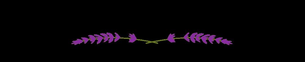 Boo Cottage Botanicals logo lavender