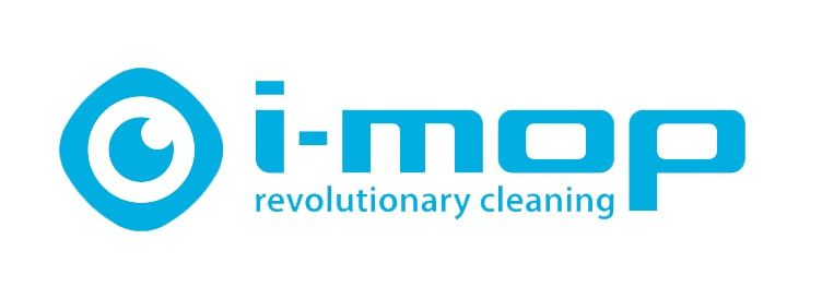 The imop revolutionary cleaning logo