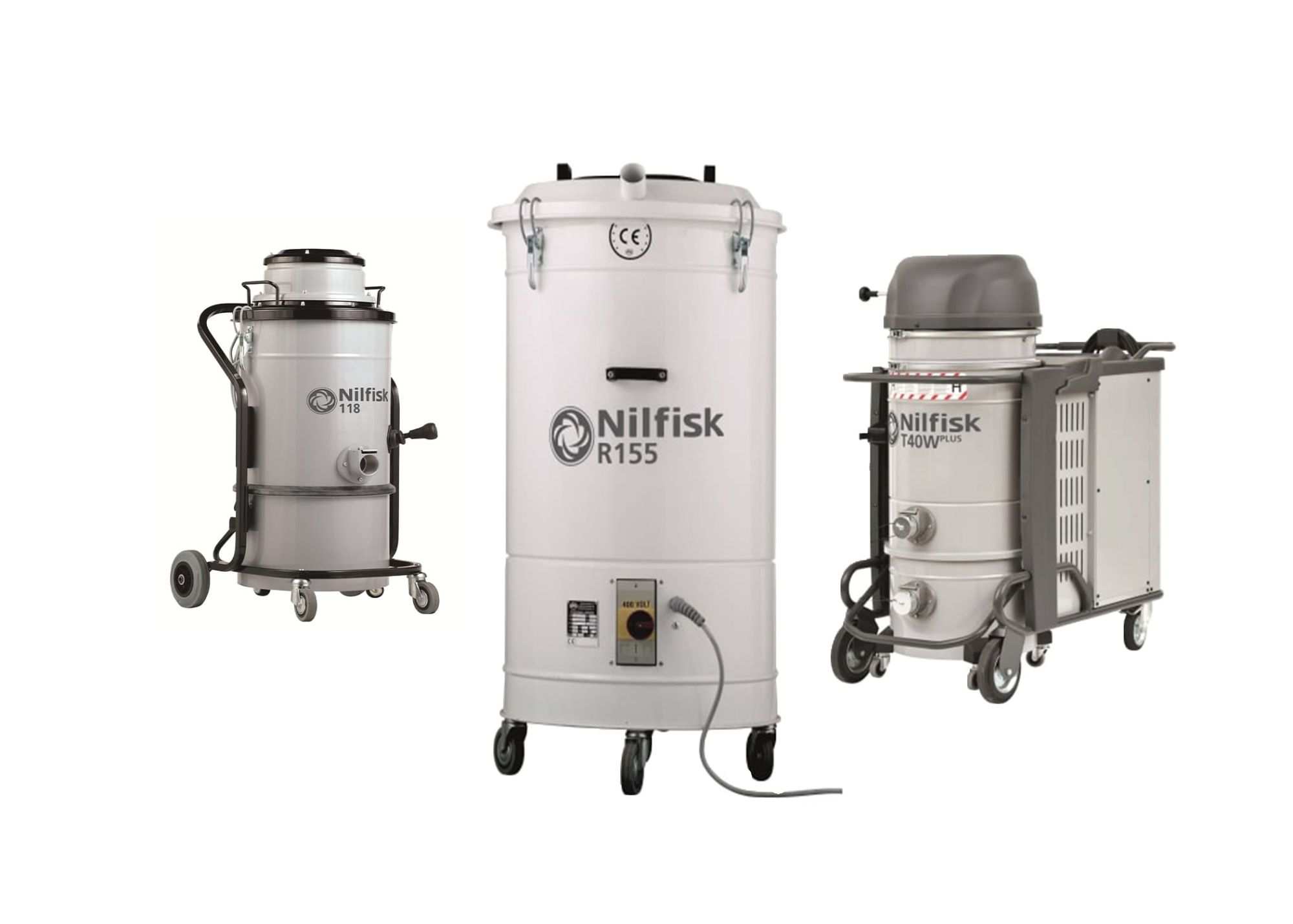 Nilfisk Industrial Vacuum Cleaners