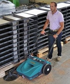 Pedestrian Sweeper