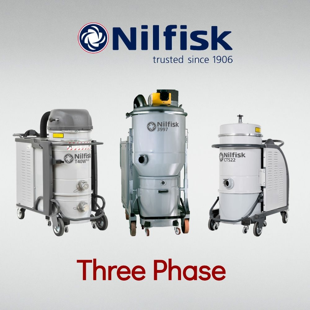 Three Phase Wet & Dry
