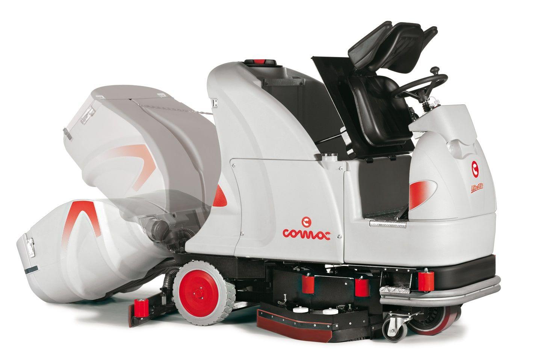 Comac Ultra 100 Scrubber Dryer open-min