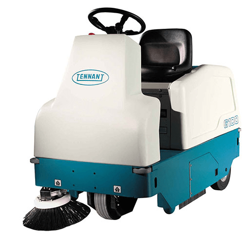 Tennant 6100 Ride On Sweeper