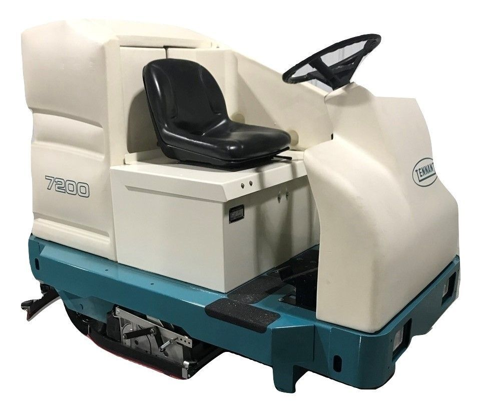 Tennant 7200 Ride On Scrubber Dryer