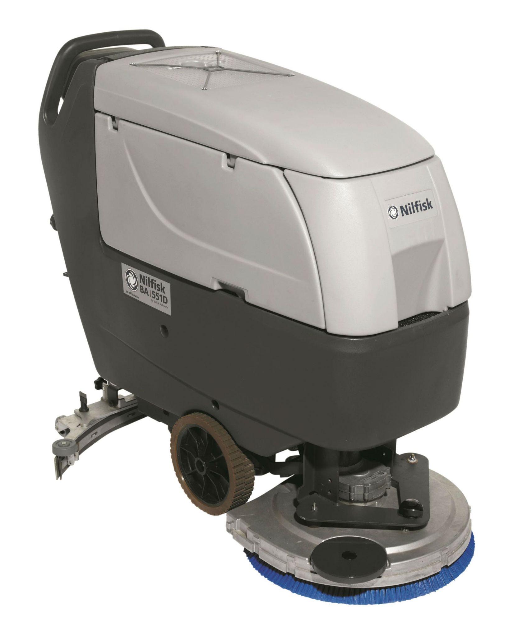 Nilfisk BA 551/611 Pedestrian Scrubber Dryer