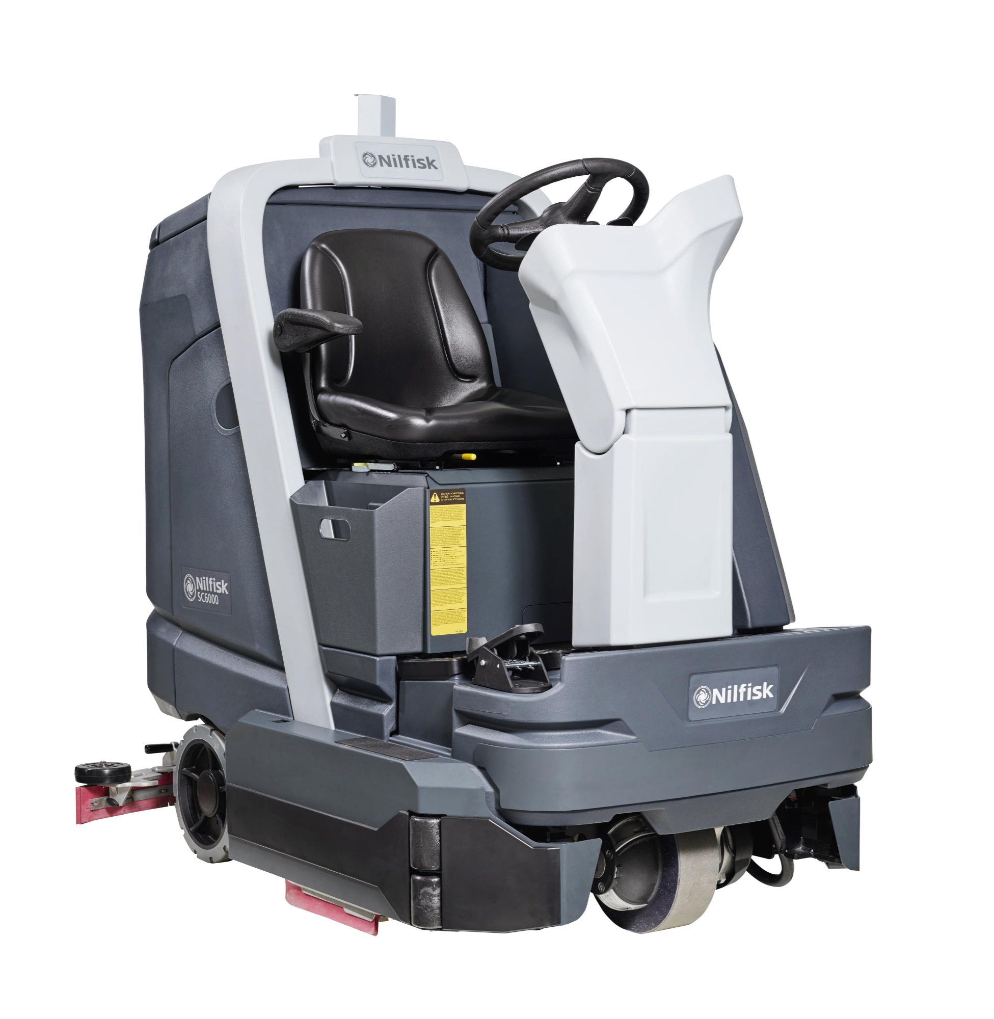 Nilfisk SC6000 Ride On Scrubber Dryer