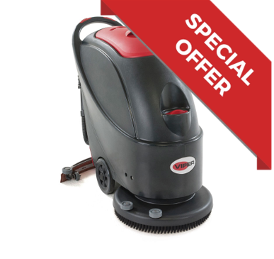 Viper AS430C Pedestrian Scrubber Dryer - 240V