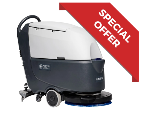 Nilfisk SC530 Scrubber Dryer