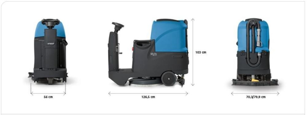 Fimap Mxr Scrubber Dryer
