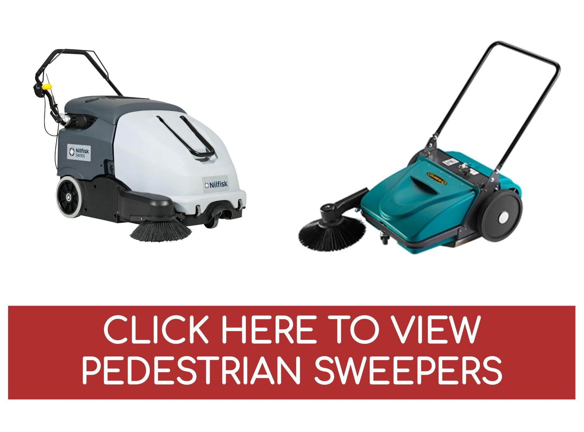Pedestrian Sweepers