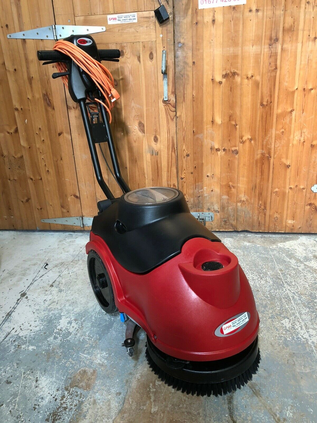 Viper AS380C Scrubber Dryer