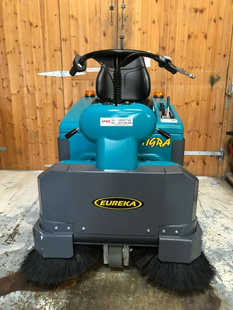 Refurbished Eureka Tigra Ride On Sweeper