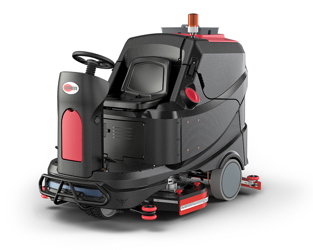 Viper AS1050R Ride On Scrubber Dryer