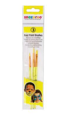 Fun Brush Set (3 Pack - Yellow)