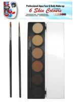 Skin Tone Palette 6x10g
